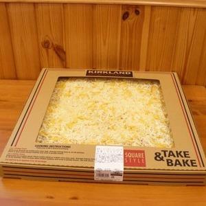 カークランド テイクベイク 四角ピザ 5色チーズ
