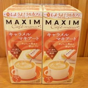 AGF MAXIMカフェメニュー キャラメルマキアート 5本入り×6箱