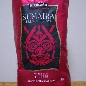 カークランド スマトラ フレンチ ロースト コーヒー