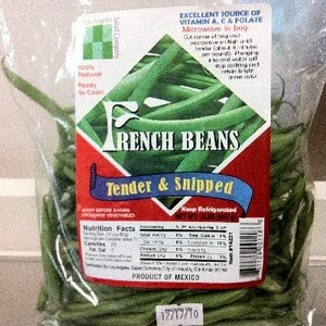 French Beans さやいんげん