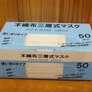 H&Gインターナショナル 不織布三層式マスク