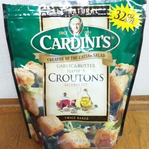 CARDINI'S カルディニ ガーリックバター クルトン