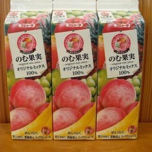 めいらくスジャータ のむ果実 オリジナルミックス 100%