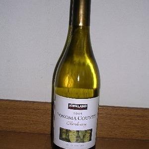 カークランド SONOMA COUNTY 2008 Chardonnay