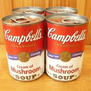 キャンベル Campbell's クリーム マッシュルーム スープ