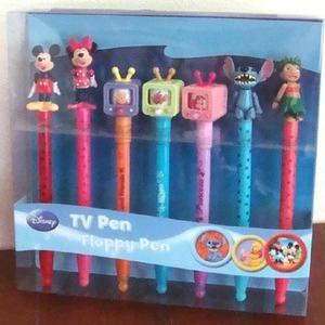 DISNEY ディズニー TV Pen & Floppy Pen