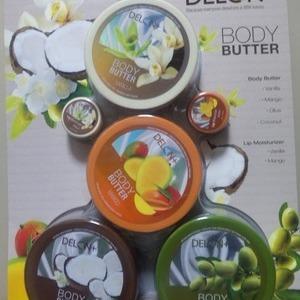 DELON+ デロン ボディーバター&リップバターセット
