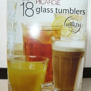 DURALEX 18 GLASS TUMBLERS