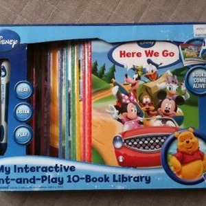 Disney My interactive point and play 10book library