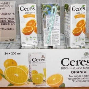 Ceres セレス オレンジ 200ml×24