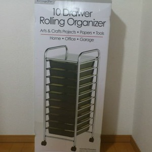 MessageStor 10Drawer Roling Organizer (10段キャビネット)