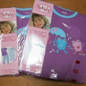 Pekkle 子供用パジャマ 2セット