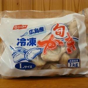 ニッスイ 広島産 冷凍かき Lサイズ 1kg