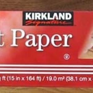 カークランド Parchment Paper (パーチメントペーパー・オーブンペーパー)