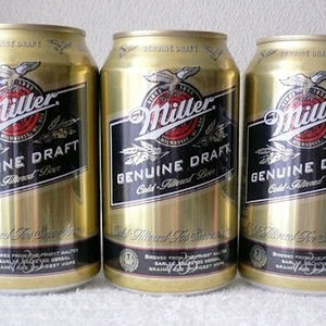 Miller Genuine Draft Beer ミラービール