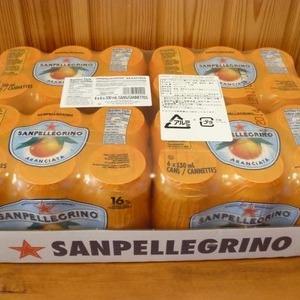 サンペレグリノ オレンジ 330ml 16%果汁入り炭酸飲料