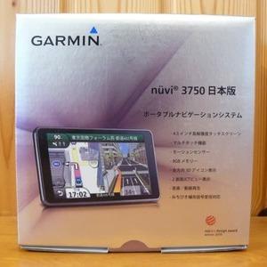 ガーミン ポータブルナビゲーションシステム nuvi 3750 日本版