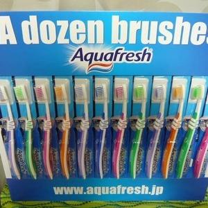 アース製薬 アクアフレッシュ Aquafresh 歯ブラシ