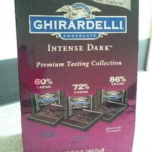 GHIRARDELLI(ギラデリ) ダークチョコレート (INTENSE DARK Premium Tasting Collection)