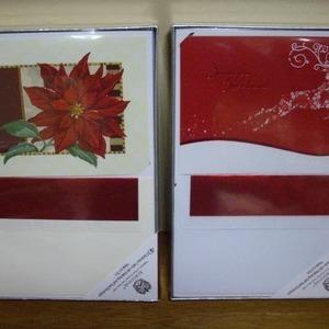 BURGOYNE 40 Christmas Cards クリスマスカード