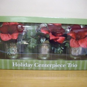 Holiday Centerpiece Trio ホリデー センターピース 3パックセット