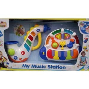 Little Learner MY MUSIC STATION サックス&ピアノ