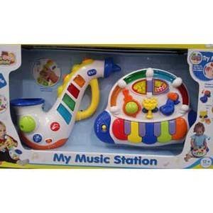 Little Learner MY MUSIC STATION サックス&ピアノ