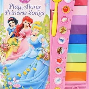 Disney play-Alpng Princess Songs ディズニー プリンセス 鍵盤付絵本