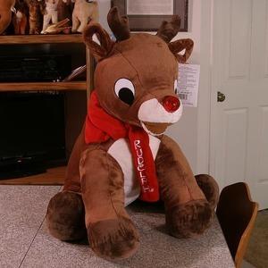 Rudolph the Red-Nosed Reindeer 赤鼻のトナカイ ルドルフの大きなぬいぐるみ