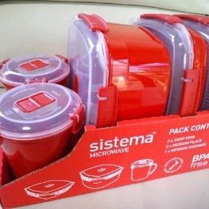 sistema フードコンテナ5個セット
