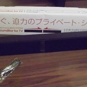 TDK テレビ用ウッドサウンドバー・スピーカー SP-XATV1000BK(37V型〜)