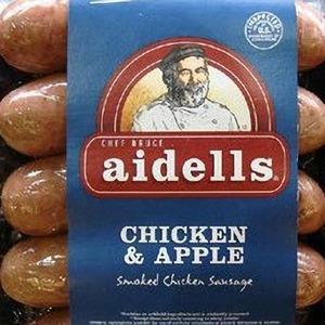 アイデル(aidells) チキンソーセージ チキン&アップル
