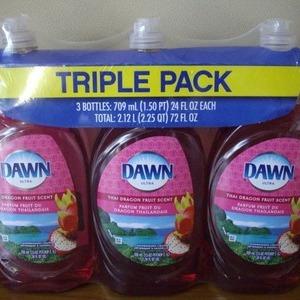 P&G DAWN ドーン 食器用洗剤 タイ・ドラゴンフルーツの香り3パック