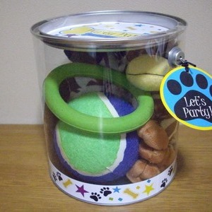 PET TOY(Party Pail) 犬のオモチャ 6個入り