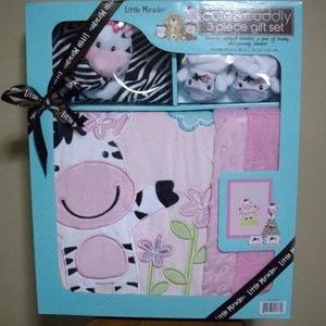 ベビーブランケットセット(cute&cuddly 3piece gift set)