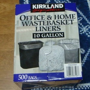 カークランド ゴミ袋 Office&home Wastebasket liners 10gallon