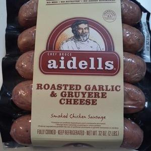 アイデル(aidells) ローストガーリック&グリュイエールチーズ