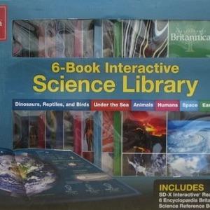 Encyclopaedia Britannica 6-Book Interactive Science Library