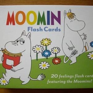 MOOMIN Flash Cards ムーミン フラッシュカード20枚