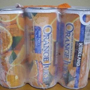 カークランド 濃縮オレンジジュース 473mlx6本