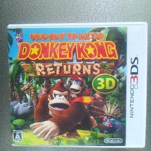 NINTENDO(任天堂) 3DS ドンキーゴング リターンズ3D