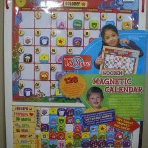 木製カレンダー(チャート)