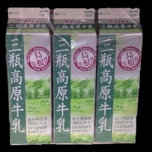チチヤス 三瓶高原牛乳