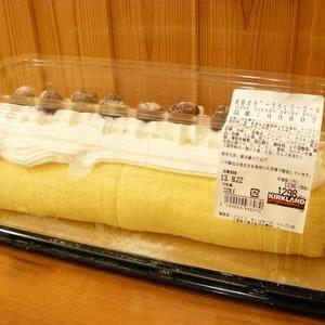 カークランド 米粉のダークチェリーロール