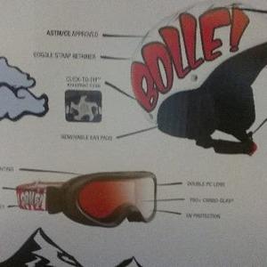 bolle スノボーゴーグル&ヘルメット