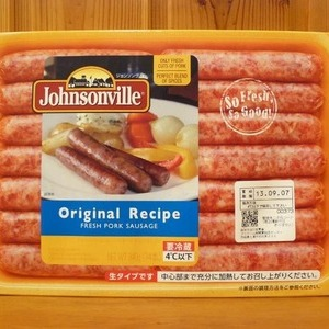 Johnsonville ジョンソンヴィル フレッシュポーク オリジナルレシピ