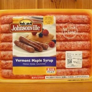 Johnsonville ジョンソンヴィル フレッシュポーク バーモントメープルシロップ