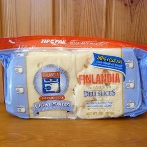フィンランディア 低脂肪エメンタールスライスチーズ