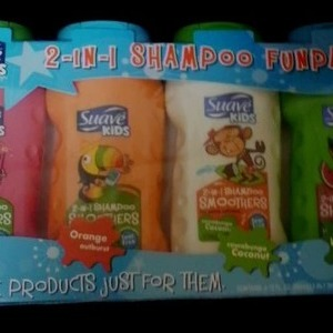 Suave Kids 2 in 1 Shampoo FUNPACK スアーブ キッズ 2in1 キッズシャンプー4本セット