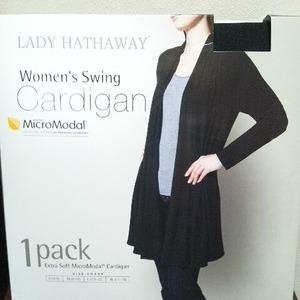 LADY HATHAWAY Swing Cardigan スイングカーディガン
